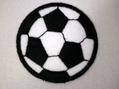 Soccer Ball Embroidered Iron On Patch 2 Inch Wrights