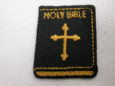 Holy Bible Christian Iron On Patch 1.5 In