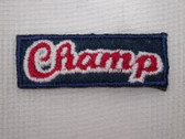 Champ Sports Child Iron On Patch Applique 1.25 In