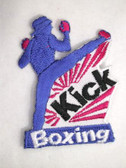 Kick Boxer Boxing Embroidered Iron On Patch Applique