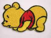 Yellow Baby Bear Embroidered Iron On Patch Applique