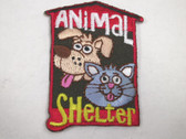 Animal Shelter Dog Cat Embroidered Iron On Patch