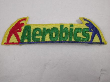 Aerobics Exercise Iron On Patch Applique