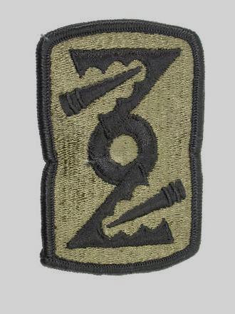 Army Military 72nd Field Artillery  Brigade Patch