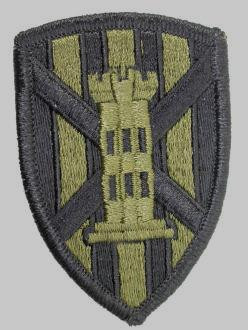 Army Military Seventh 7th Engineer Sew On Patch Badge