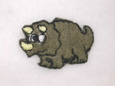 Triceratops Baby Infant Embroidered Iron On Patch B