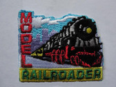 Model Railroader Vintage Locomotive Iron On Patch