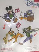 Mickey Goofy Donald Self Adhesive Musical Band Set