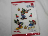 Mickey Goofy Donald Self Adhesive Birthday Party Patch Set