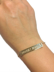Custom Bar Bracelet