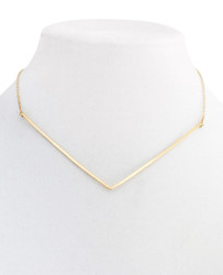 V Collar Necklace