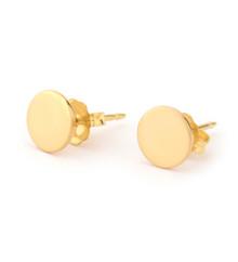 Tiny Disc Earrings