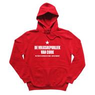 Dutch hoodie in red