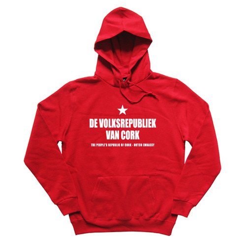 Dutch hoodie in red
