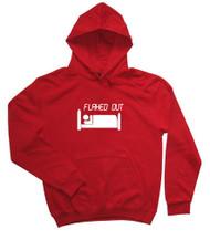 Flahed Out Red Hoodie