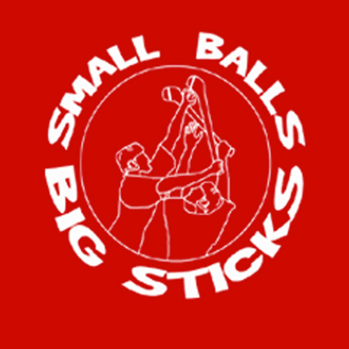 Small Balls Big Sticks Mens T Shirt