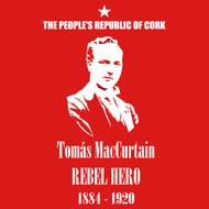 Rebel Heroes - Tomas MacCurtain Mens T Shirt