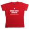 Latvian Ladies T-shirt in Red