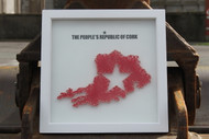 PROC String Art in White Box Frame
