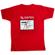 Cork Subway Route - T-shirt