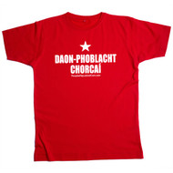 PROC Irish Mens Red T Shirt