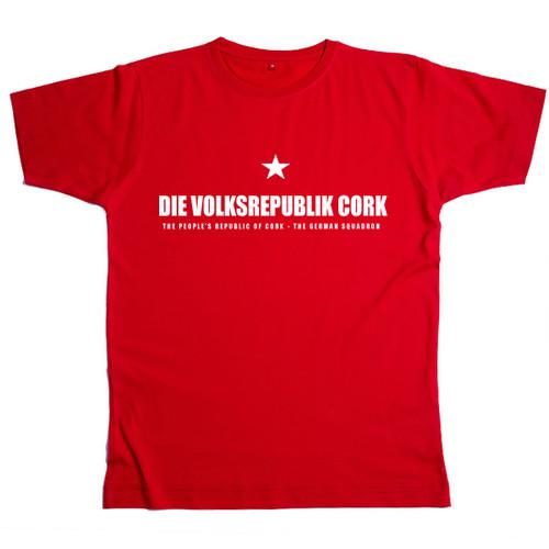 PROC German Mens Red T Shirt