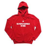 PROC Mens Red Hoodie