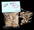 Shell Toothpicks 3 Packs