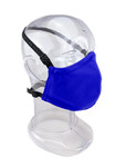 Premium GEN 2 Face Mask  - Reusable 2-Ply Fabric - Solid Royal Blue
