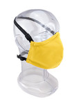 Premium GEN 2 Face Mask  - Reusable 2-Ply Fabric - Solid Safety Yellow