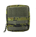 I.F.A.K. (Individual First Aid Kit) Pouch with MOLLE straps and Belt Loop - Digital Forest