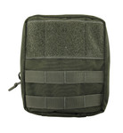 I.F.A.K. (Individual First Aid Kit) Pouch with MOLLE straps and Belt Loop - OD Green