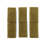 Velcro MOLLE Bridging - Tan (3pcs)