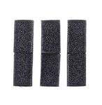 Velcro MOLLE Bridging - Black (3pcs)