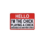 PVC Morale Patch - I'M THE CHICK