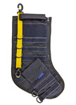 Tactical Christmas Stocking - Navy Blue with Yellow Stripe - Limited Quantities