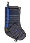 Tactical Christmas Stocking - Navy Blue with Blue Stripe - Limited Quantities