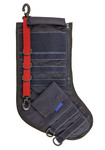Tactical Christmas Stocking - Navy Blue with Red Stripe - Limited Quantities