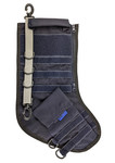 Tactical Christmas Stocking - Navy Blue with Grey Stripe - Limited Quantities