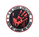 PVC Morale Patch - Red Handed - (Glow in the Dark)