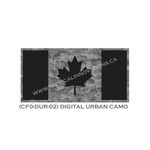 "Canadian Flag - 24"" x 48""- Digital Urban Camo"