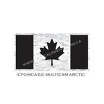 "Canadian Flag - 24 ""x 48"" - MultiCam Arctic Camo"