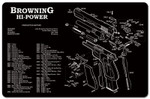 Browning Hi Power Pistol Cleaning Mat