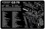 CZ-75 Pistol Cleaning Mat
