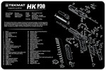 Heckler & Koch HK P30 Pistol Cleaning Mat