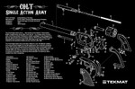 Colt Revolver (Army) Cleaning Mat