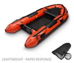 "Rescue Response Boat 14'0"" (Rapid Response - Lightweight)"