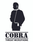 COBRA Tactical Throat Microphone - QUICK RELEASE