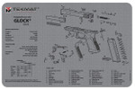 Glock Firearms Cleaning Mat (Grey)