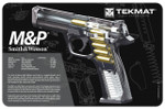 Smith and Wesson M&P Cutaway Pistol Cleaning Mat